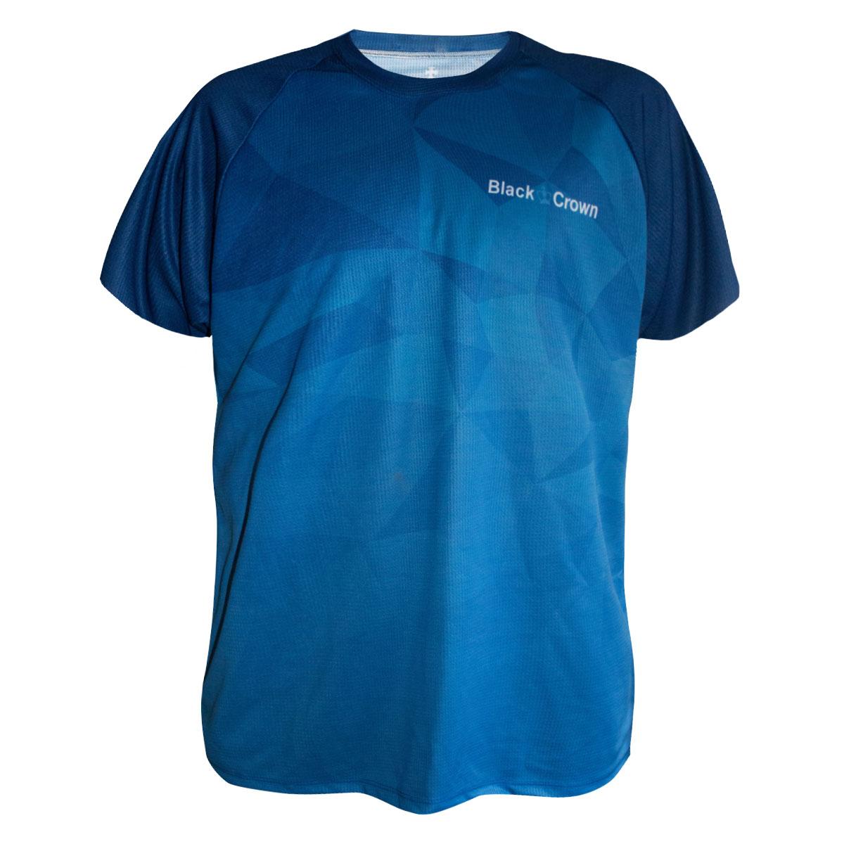 Camiseta Black Crown Austin azul