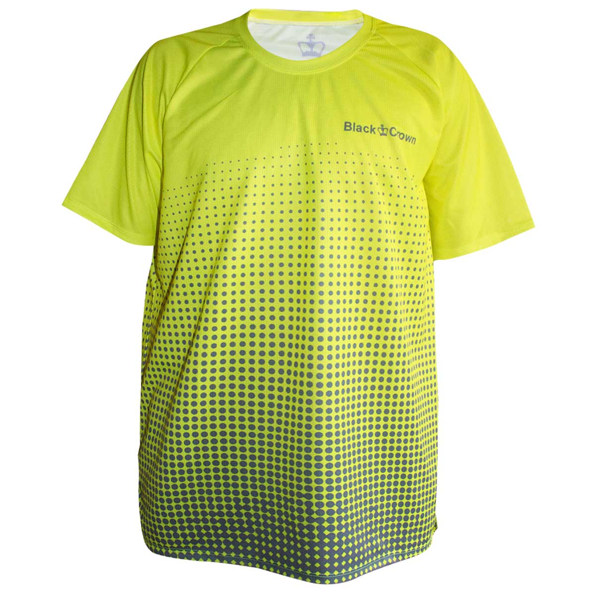 Camiseta Black Crown Miami amarillo-gris